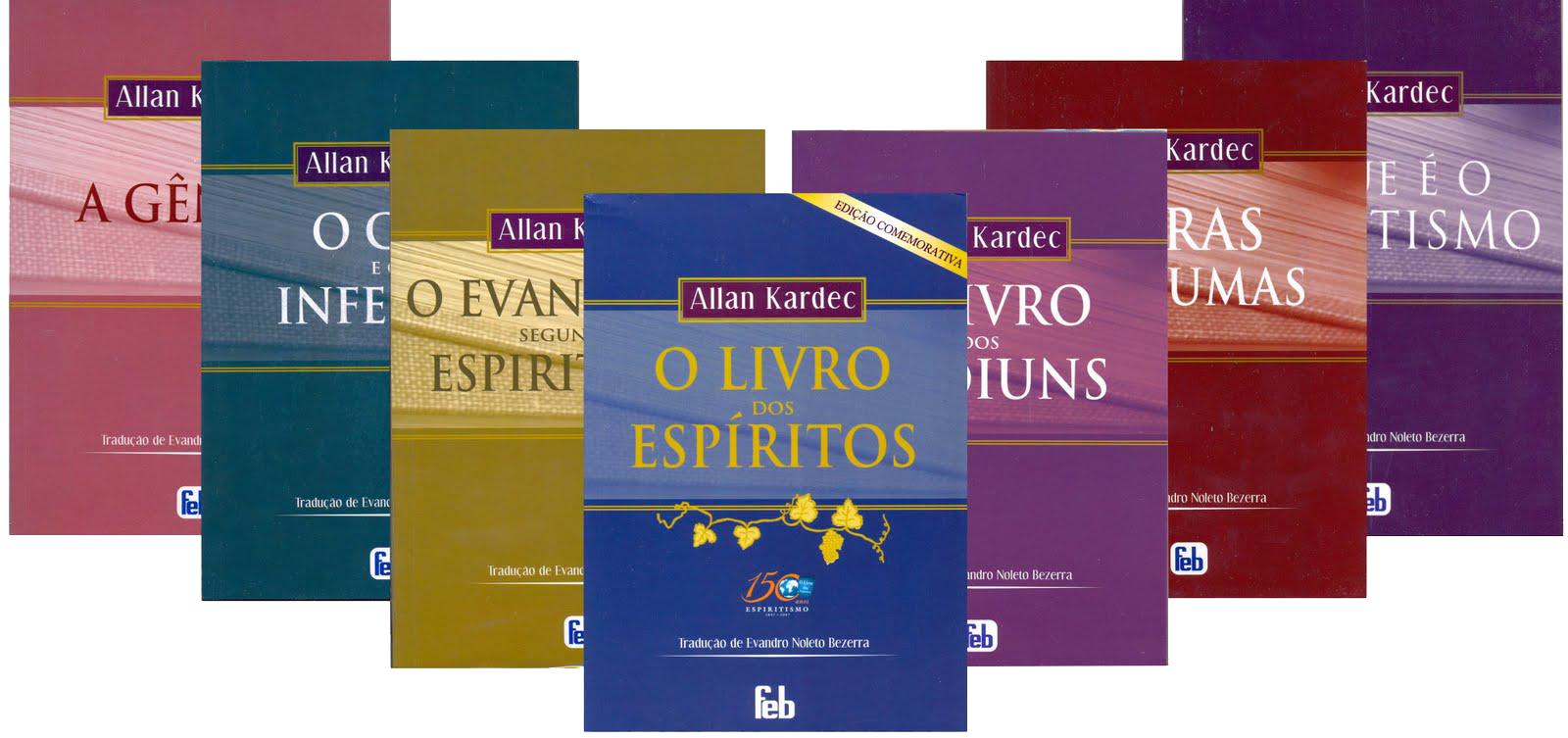 Faça Download das obras de Allan Kardec