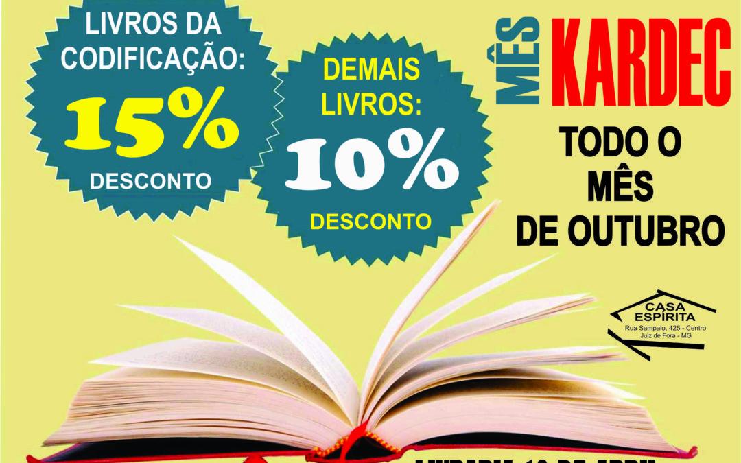 Promoção livraria Outubro