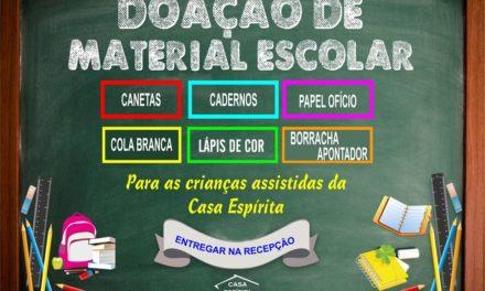 Doe Material Escolar 2019