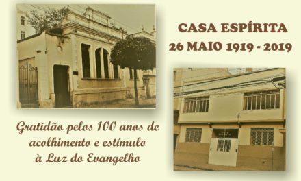 Depoimentos dos trabalhadores sobre as comemorações de 100 anos da Casa Espírita de Juiz de Fora