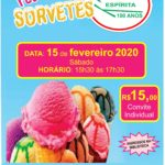 Festival de Sorvetes 15 Fevereiro 2020